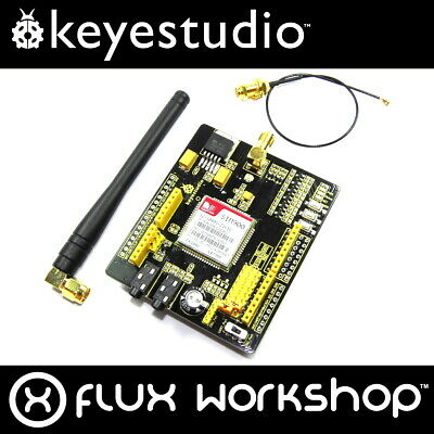 Keyestudio SIM900 Arduino Shield KS0142 GSM GPRS Antenna Voice SMS Flux Workshop