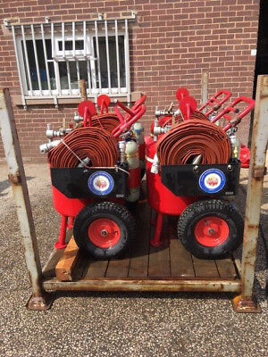 Fire Equipment, Foam HoseTrolley,Light Aircraft, Helicopter, Fuel Store, AFFF 20