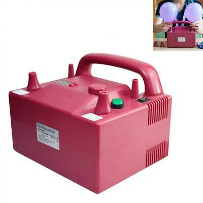 Hot 680W High Power Two Nozzle Air Blower Timing Electric Balloon Inflator Pump