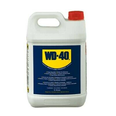 WD40 5 Litre with Applicator Spray Bottle WD40 MultiPurpose Lubricator 5L WD40!