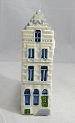Vintage ROYAL GOEDEWAAGEN DELFT Hand Painted ROW HOUSE 5107