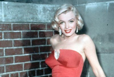 Gorgeous Busty  Marilyn Monroe Rare  35Mm Slide Transparency 5