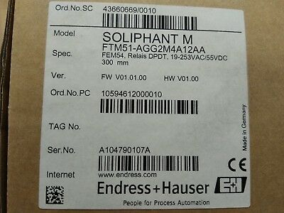 Endress+Hauser Soliphant M FTM51-AGG2M4A12AA