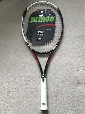 Prince Tennis Racquet Red LS 105 1200 Power Level grip size 3, 4 3/8