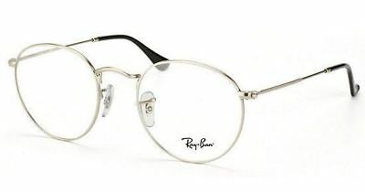56938b47f76 ... new zealand authentic ray ban eyeglasses rb3447v 2538 silver frames rx  able 47mm 95cd3 11151