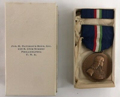 WWI WW1 AEF Medal Lot- Pennsylvania National Guard Mexican Border Medal BOXED