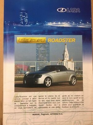 Car Brochure - 2003 Lada Roadster - Russia Export