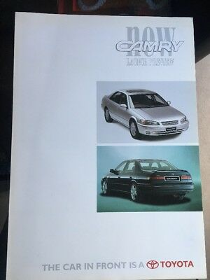 Car Brochure - 1997 Toyota Camry - UK