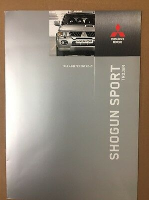 Car Brochure - 2006 Mitsubishi Shogun Sport Trojan - UK