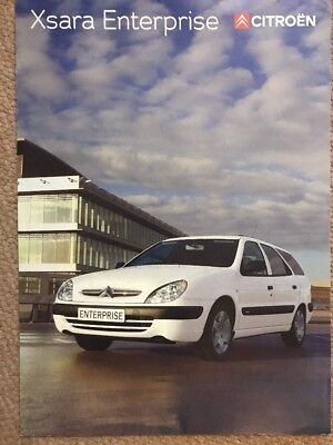 Car Brochure - 2003 Citroen Xsara Enterprise - UK
