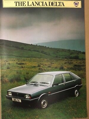 Car Brochure - 1983 Lancia Delta - UK
