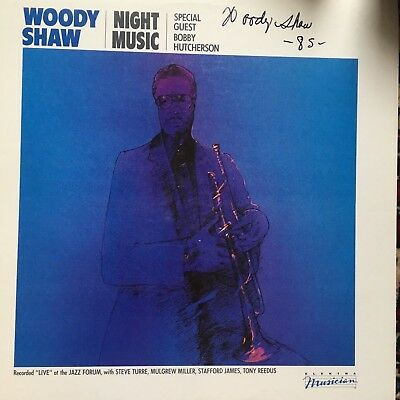 Woody Shaw Night Music Autograph Electra Top