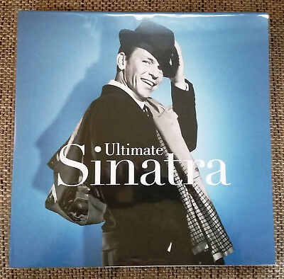 Frank Sinatra - Ultimate Sinatra 2 LP Blue Blau Vinyl (Greatest Hits) - Coloured