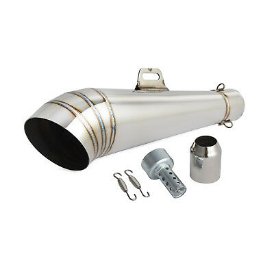 Exhaust Muffler Pipe Silencer with DB Killer 38-51MM For 125cc-1000cc Motorcycle