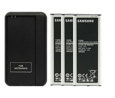 New 3000mAh Battery + Cradle Wall Charger for Samsung Galaxy Note Edge SM-N915