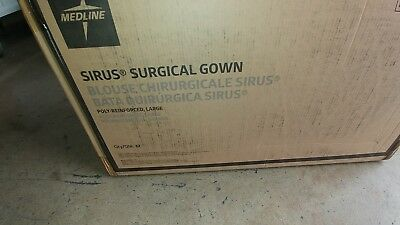 Medline Sterile Sirus Surgical Gown Large 32 Qnty