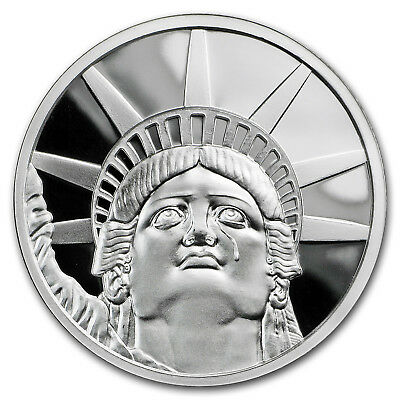 2018 1 oz Silver Shield Proof Round - MiniMintage Colossus - SKU#170721