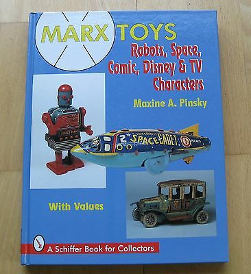 Fantastisches Buch Marx Toys Disney Comic Characters Robots Roboter Spacetoys