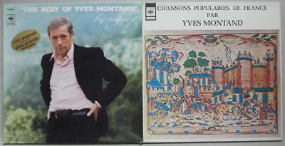 Yves Montand - Best of Y. Montand by request & Chansons populaires de France, NM