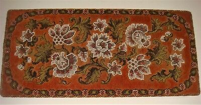 Antique bead work with flowers very pretty colors