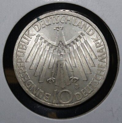 1972-J Germany Olympiad 10 Mark Coin - 01668