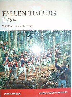 Osprey Campaign 256  Fallen Timbers 1794
