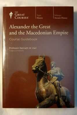 Great Courses Alexander the Great and the Macedonian Empire Guide DVD Lectures