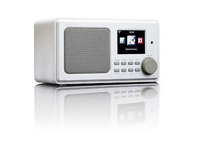 Lenco DIR-100 DAB+ PLL FM Internet Radio With USB Playback/Remote Control And -