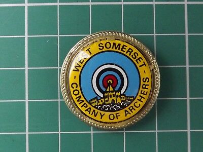 West Somerset Company of Archers  Archery Badge