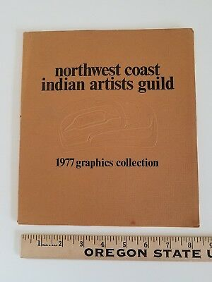 Pacific Northwest Coast (Native) Indian Artists Guild 1977 GRAPHICS COLLECTION