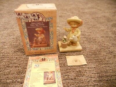Vintage 1993 Enesco Memories of Yesterday Mary, Mary, Quite Contrary IOB