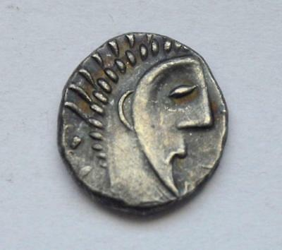 Ancient Asian India Celtic Silver Small Coin 0,72 Gr