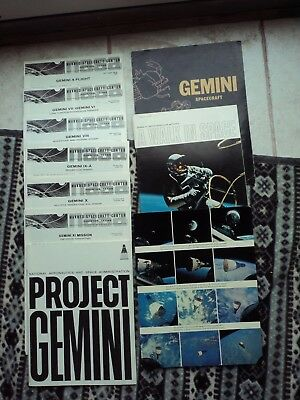 NASA Photos and Booklets from Gemini Project