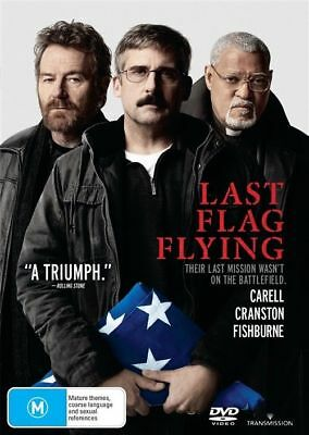 Last Flag Flying Dvd, New & Sealed, 2018 Release, Region 4, Free Post