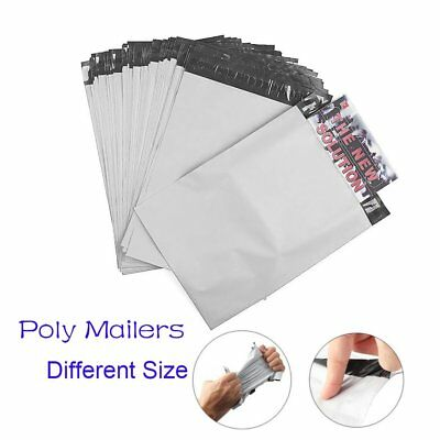 100-2000 Poly Mailers Shipping Plastic Envelope Different Size Self-sealing Bags