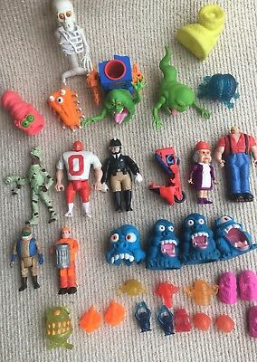 Vintage Job Lot of the Real Ghostbusters Colombia Pictures Ghosts Figures etc