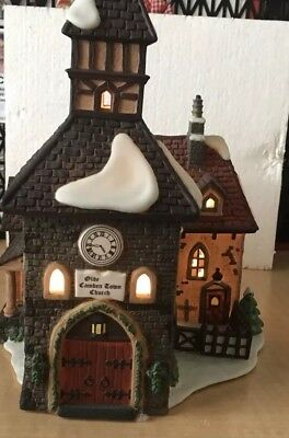 """Department 56 Dickens Village Series """"The Olde Camden Town Church"""" #58346"""
