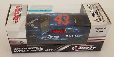 Bubba Wallace 2018 Lionel #43 Air Force Chevy Camaro ZL1 1/64