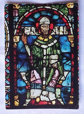 CANTERBURY CATHEDRAL: THE BECKET WINDOW [Colour Postcard]
