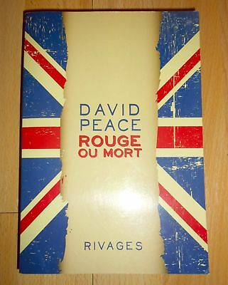 David Peace « Rouge ou Mort » (Football FC Liverpool, bio Bill Shankly EO 2014)
