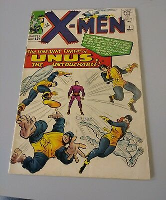 The X-Men #8 (Nov 1964, Marvel)