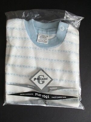 Vintage Gallant Play Togs Toddler Pullover Shirt  New Old Stock Size 3
