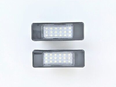 Luces de Matrícula Led Peugeot 106 1007 207 2008 308 3008 406 407 508