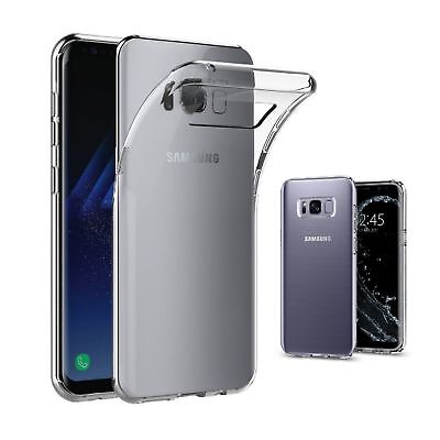 Cover Case Slim Soft Silicone TPU Transparent For Samsung S8 / S8 Plus Ultrathin