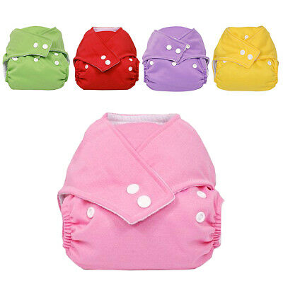 Washable Baby Waterproof Cloth Diaper Cover Kid Diaper Reusable Nappy Adjustable