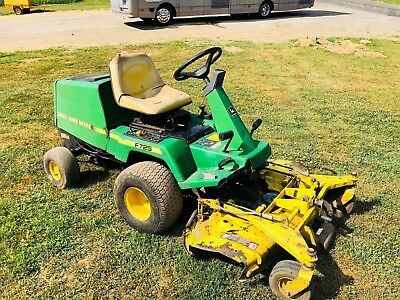 John Deere F725 Front Cut Rotary Riding Mower Zero Commercial Turn