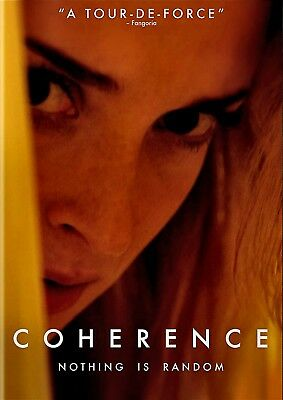 NEW  DVD- COHERENCE - Emily Foxler, Maury Sterling, Nicholas Brendon,