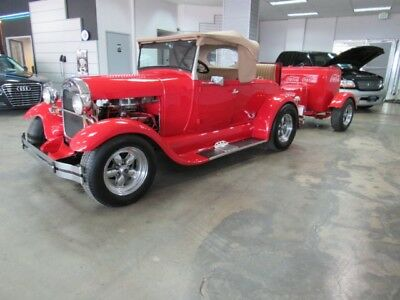 1929 Ford Model A  1929 Ford Model A  (Replica) with Rumble seat and Coke Trailer