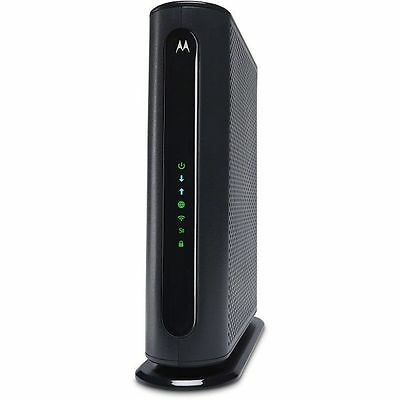 Motorola MG7550-10 Cable Modem 16x4 686mbps DOCSIS 3.0 AC1900 Wi-Fi Router
