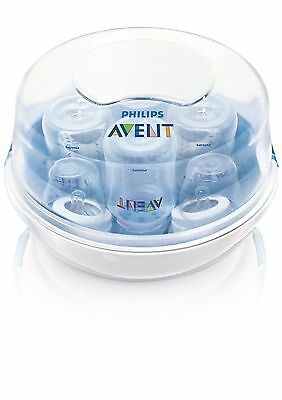 Steam AVENT Microwave 3 in 1 Sterilizer 4 Bottle baby OPEN BOX - D21